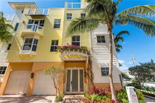 Photo of 4332 Seagrape Dr #7, Lauderdale By The Sea, FL 33308 (MLS # A10775438)