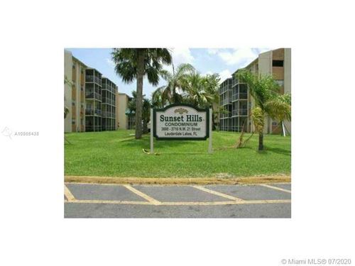 Photo of 3610 NW 21st St #407, Lauderdale Lakes, FL 33311 (MLS # A10865438)