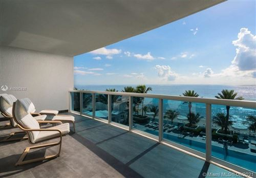 Photo of 2711 S Ocean Dr #604, Hollywood, FL 33019 (MLS # A10982438)