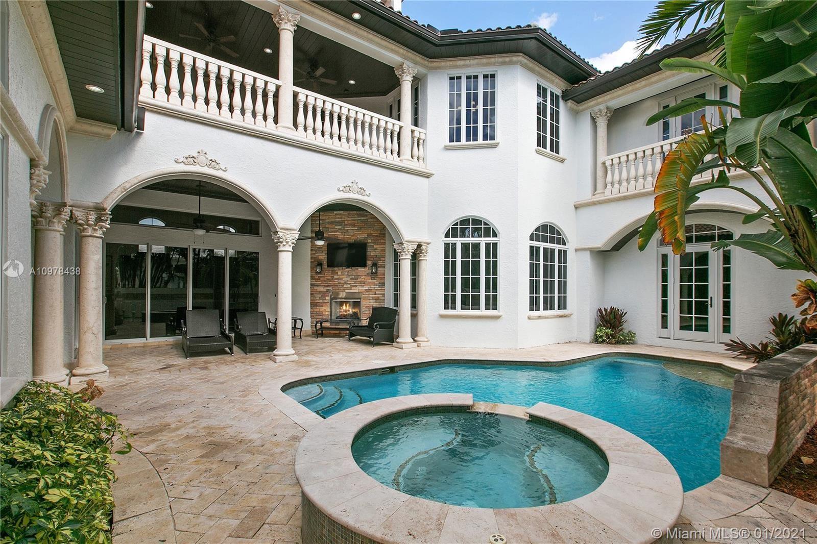 Photo of 170 Ocean Boulevard, Golden Beach, FL 33160 (MLS # A10978438)