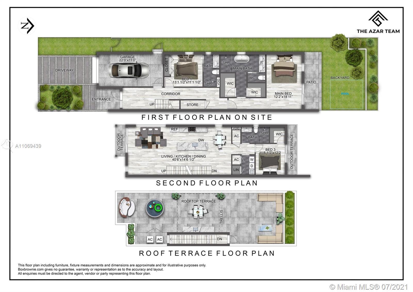 1375 SW 22nd Terrace #1, Miami, FL 33145 - #: A11069439
