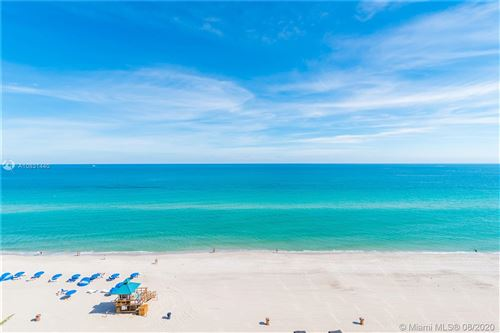 Photo of 18555 Collins Ave #3401, Sunny Isles Beach, FL 33160 (MLS # A10831440)
