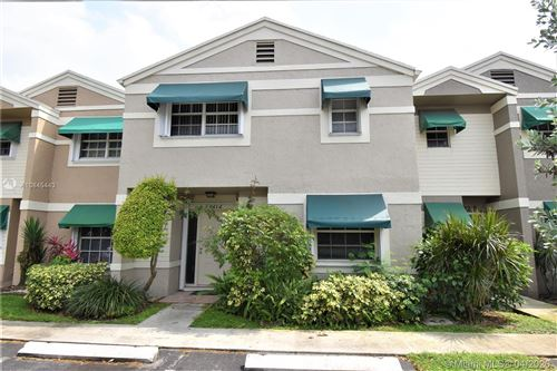 Photo of Listing MLS a10845443 in 12212 SW 52nd Pl #12212 Cooper City FL 33330