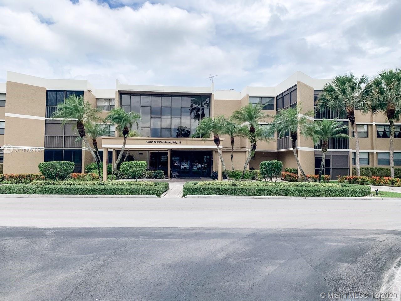 16400 Golf Club Rd #211, Weston, FL 33326 - #: A10892444