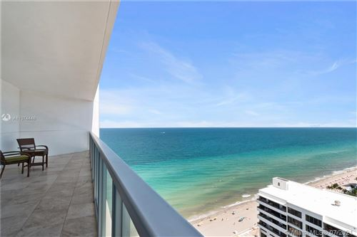 Photo of 3101 S Ocean Drive #2307, Hollywood, FL 33019 (MLS # A11074446)