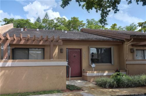 Photo of Listing MLS a10891447 in 805 NW 79th Ter #805 Plantation FL 33324