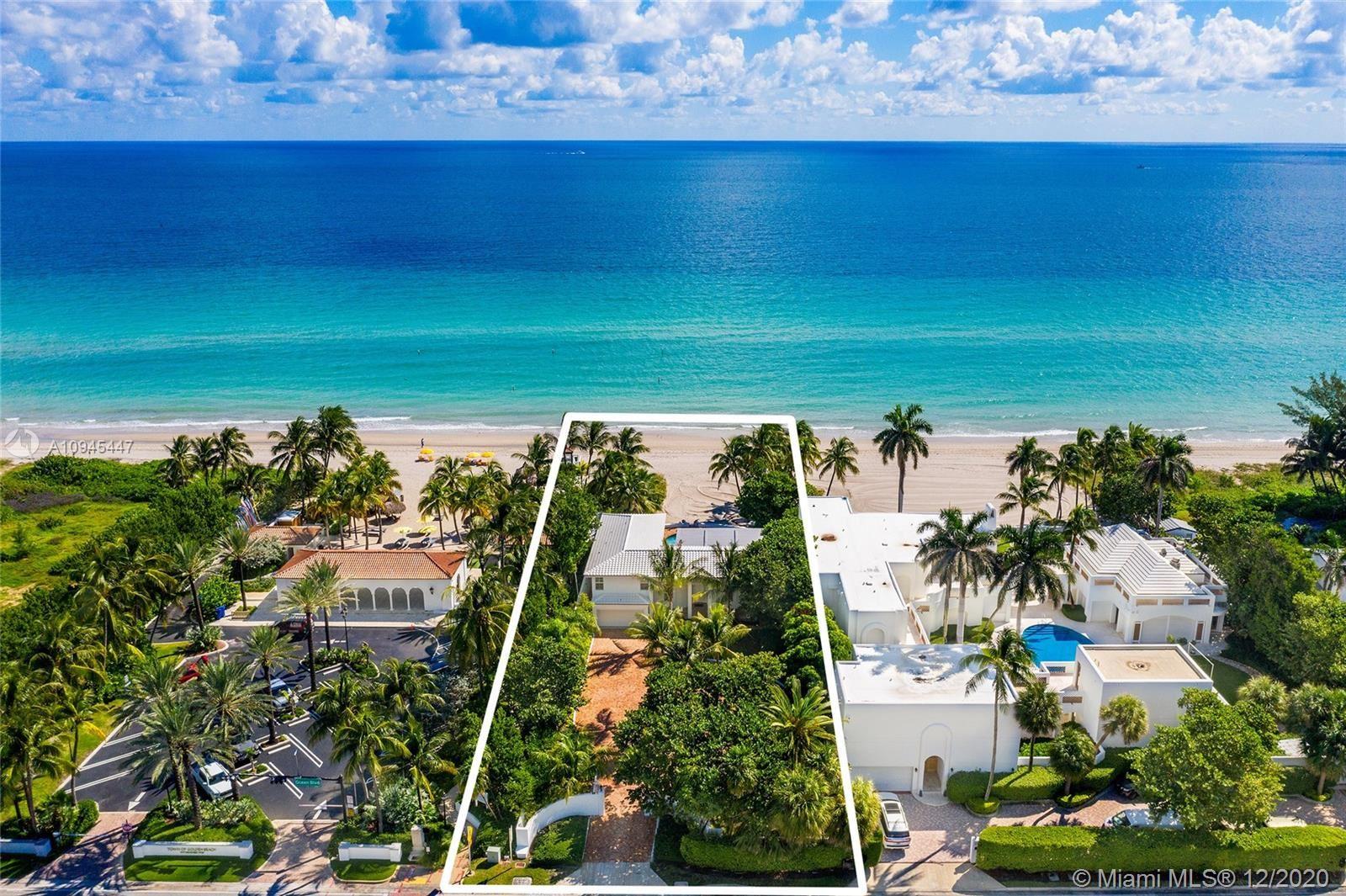 Photo of 399 Ocean Blvd, Golden Beach, FL 33160 (MLS # A10945447)