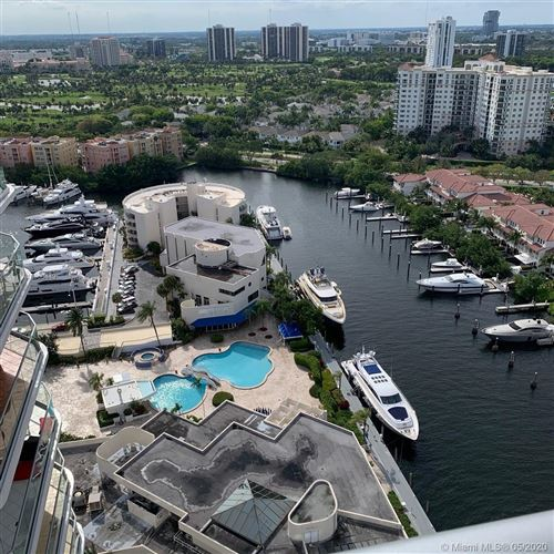 Photo of 19707 Turnberry Way #27L, Aventura, FL 33180 (MLS # A10866449)