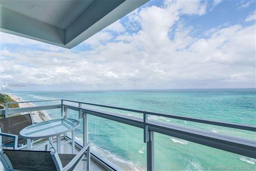 Photo of 6801 Collins Ave #PH04, Miami Beach, FL 33141 (MLS # A10972449)