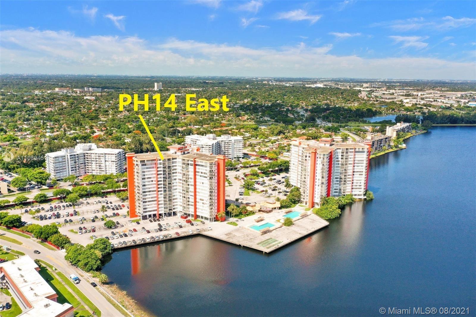 1351 NE Miami Gardens Dr #PH14E, Miami, FL 33179 - #: A11089451
