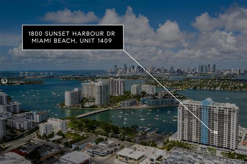 Photo of 1800 Sunset Harbour Dr #1409, Miami Beach, FL 33139 (MLS # A10881453)