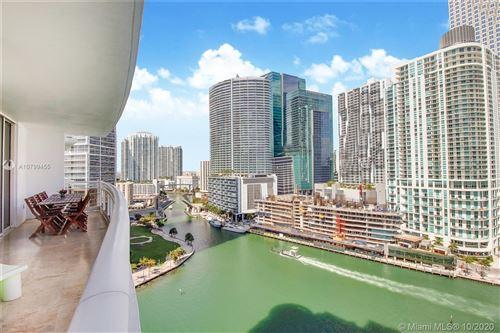 Photo of 901 Brickell Key Blvd #2006, Miami, FL 33131 (MLS # A10799455)
