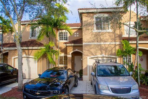 Photo of 849 SW 148th Pl #849, Miami, FL 33194 (MLS # A10998455)