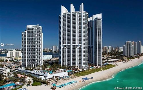 Photo of 18201 Collins Ave #1207, Sunny Isles Beach, FL 33160 (MLS # A11011455)