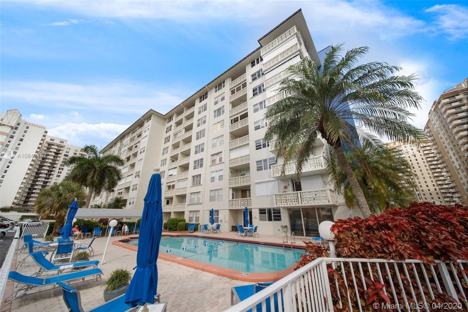 1893 S Ocean Drive #411, Hallandale Beach, FL 33009 - #: A10842457
