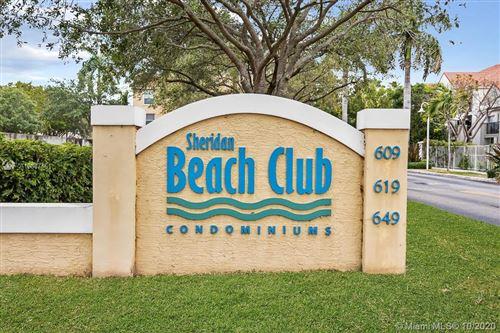 Foto de inmueble con direccion 649 E Sheridan St #112 Dania Beach FL 33004 con MLS A10847461