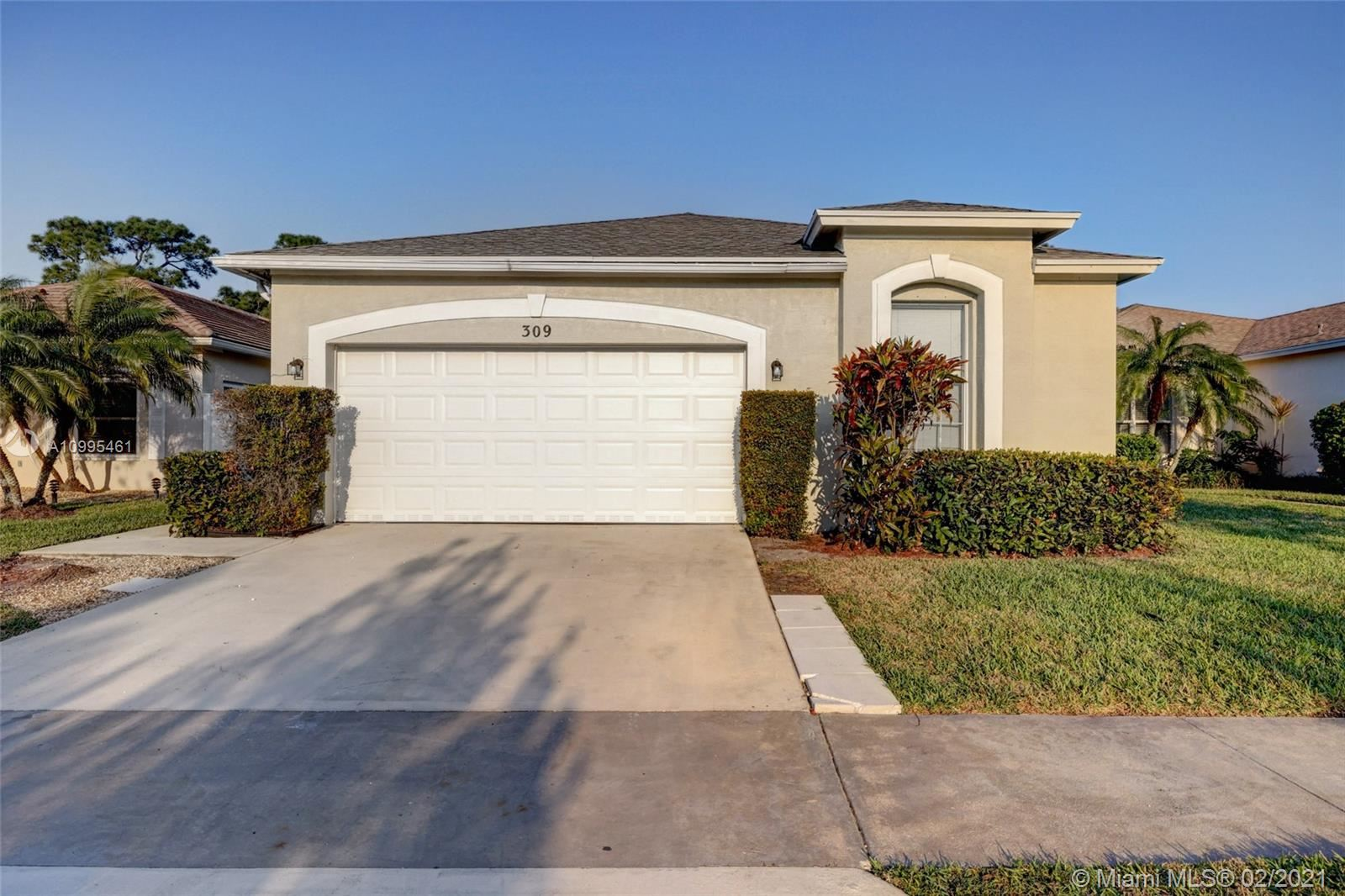 309 SW Tomoka Springs Dr, Port Saint Lucie, FL 34986 - #: A10995461