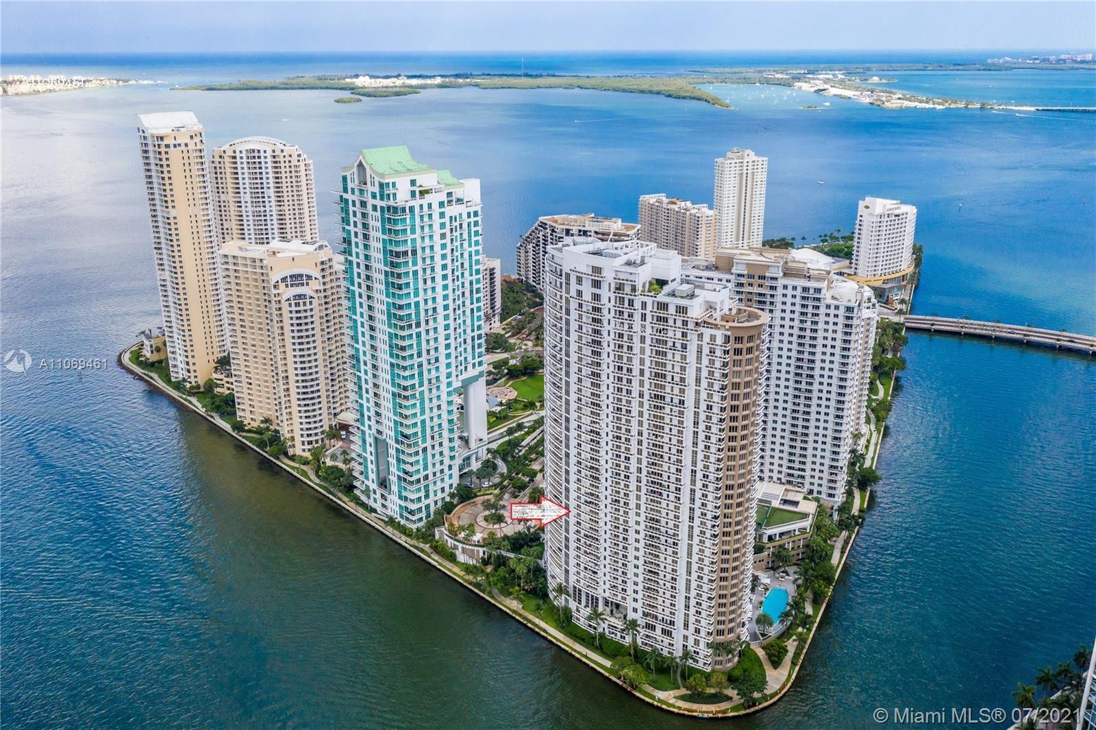 901 Brickell Key Blvd #1406, Miami, FL 33131 - #: A11069461