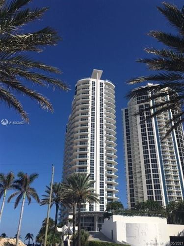 Photo of 18683 Collins Ave #1109, Sunny Isles Beach, FL 33160 (MLS # A11042463)