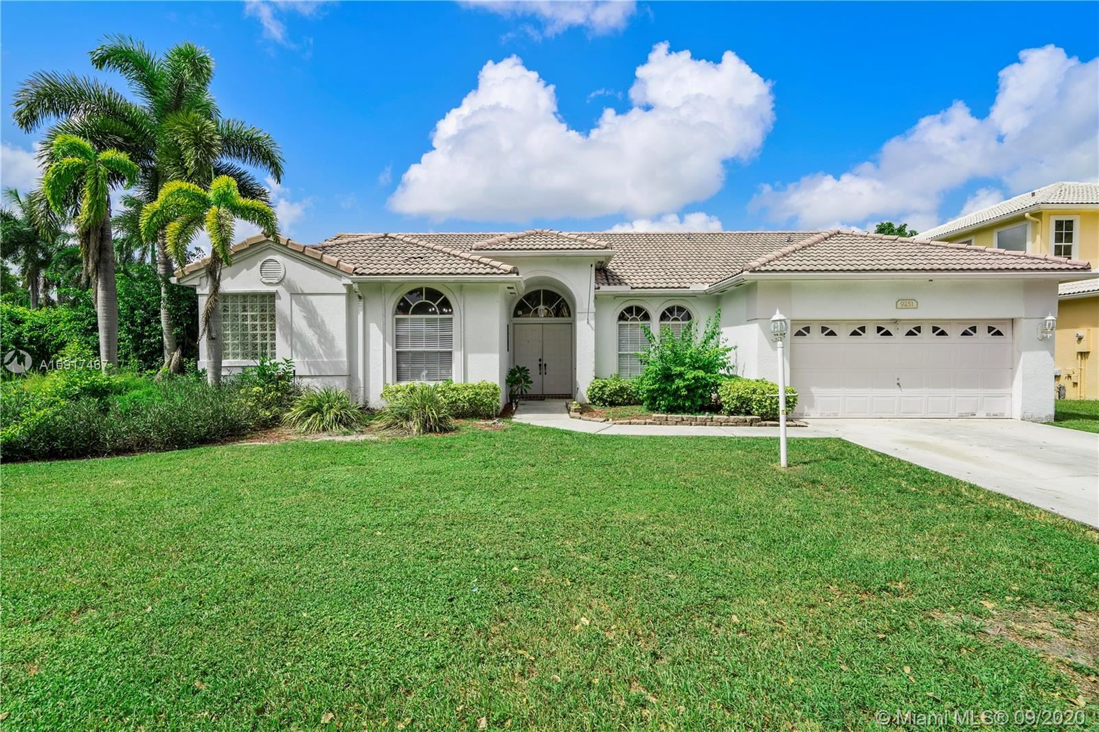 9251 NW 42nd Ct, Coral Springs, FL 33065 - #: A10917467