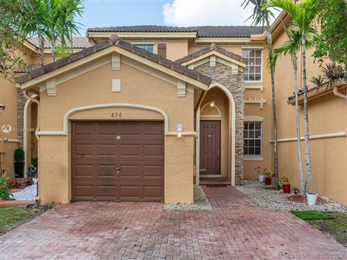 Photo of 836 SW 154th Ct, Miami, FL 33194 (MLS # A10990468)