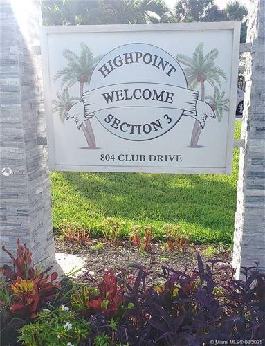 Photo of 757 High Point Dr E #C, Delray Beach, FL 33445 (MLS # A11078470)