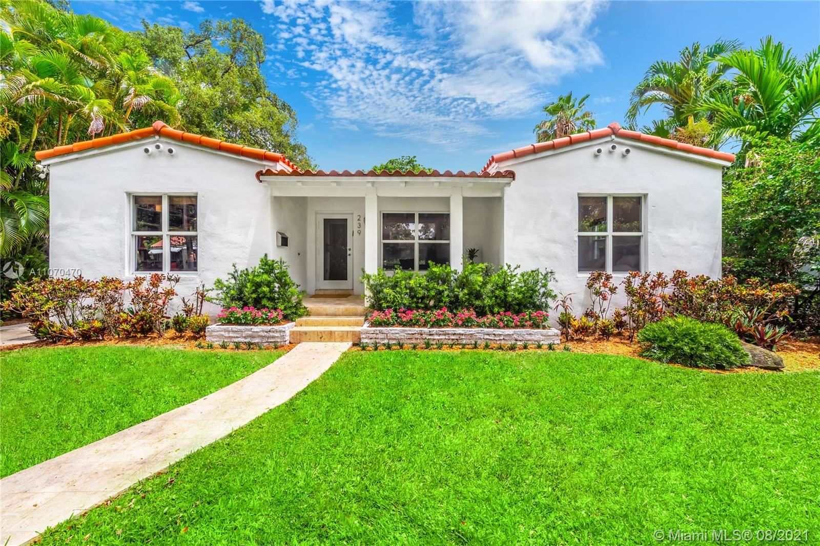 Photo of 239 Fluvia Ave, Coral Gables, FL 33134 (MLS # A11070470)