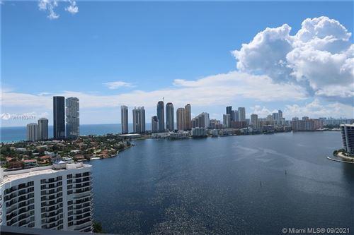Photo of 3530 Mystic Pointe Dr #2910, Aventura, FL 33180 (MLS # A11102471)