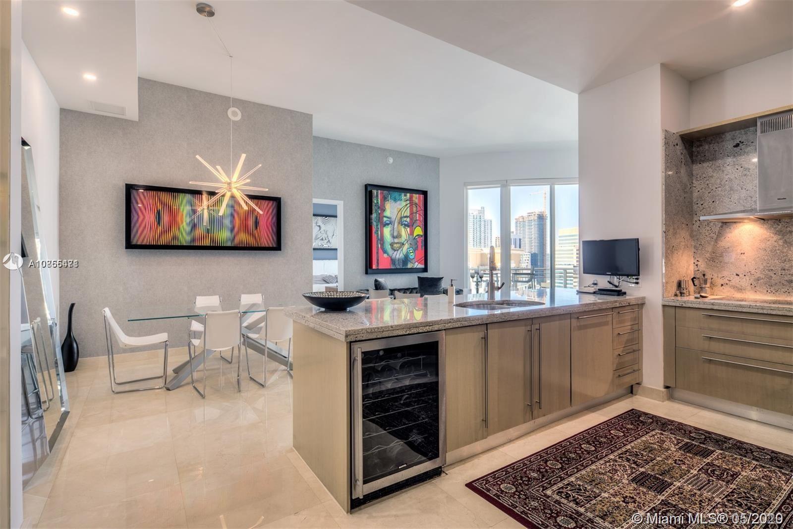 Photo of 900 Brickell Key Blvd #2805, Miami, FL 33131 (MLS # A10855471)