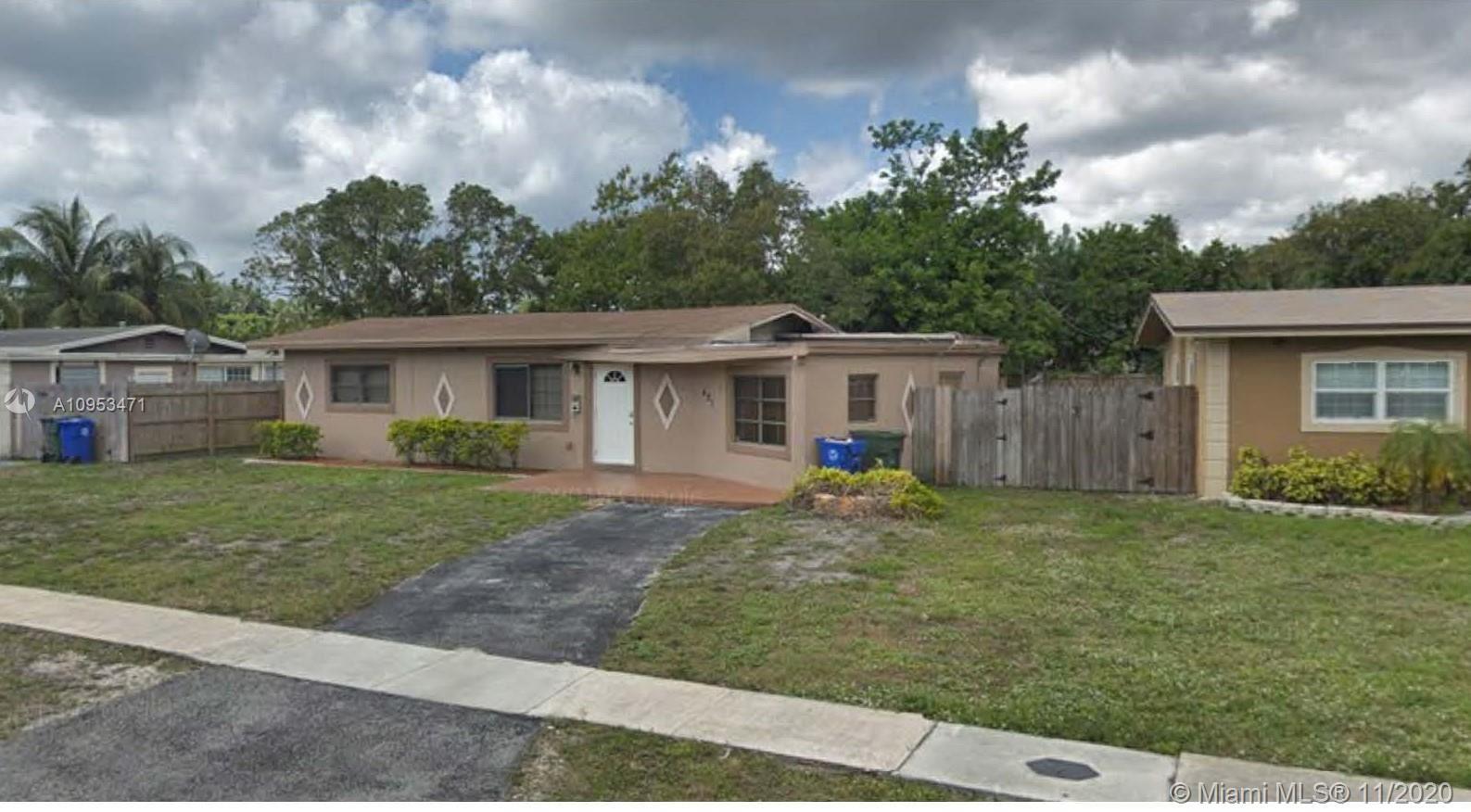 421 E Dayton Cir, Fort Lauderdale, FL 33312 - #: A10953471