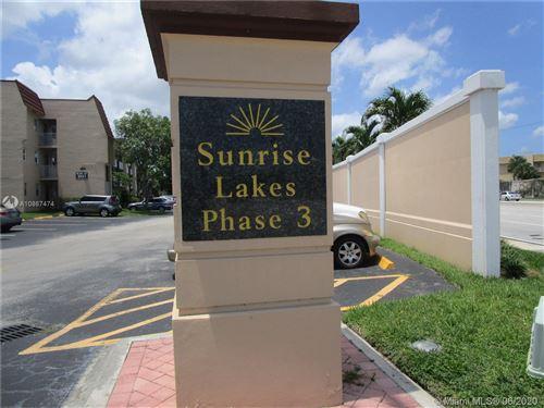 Photo of 8950 E Sunrise Lakes Blvd #208, Sunrise, FL 33322 (MLS # A10867474)