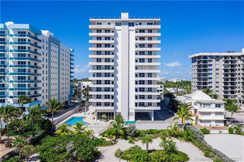 Photo of 9225 Collins Ave #411, Surfside, FL 33154 (MLS # A11020474)