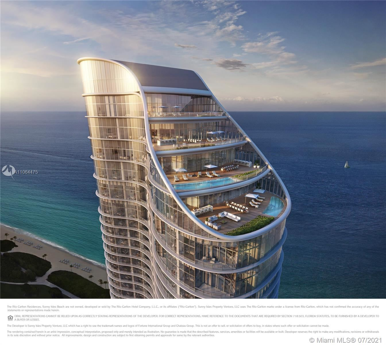 15701 Collins Ave #2005, Sunny Isles, FL 33160 - #: A11064475