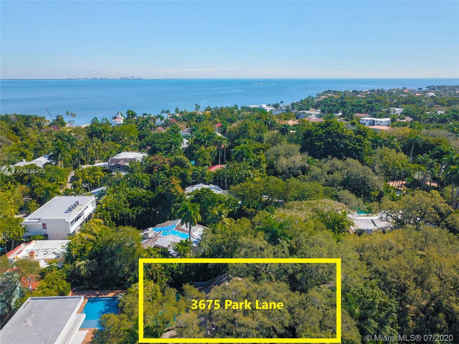3675 Park Lane, Coconut Grove, FL 33133 - #: A10885476
