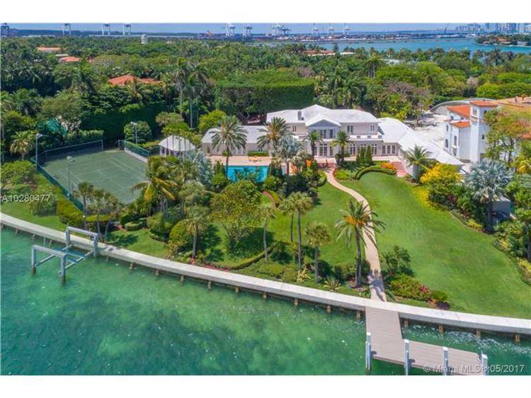 Foto 1 de la propiedad MLS a10280477 en 23 Star Island Dr Miami Beach