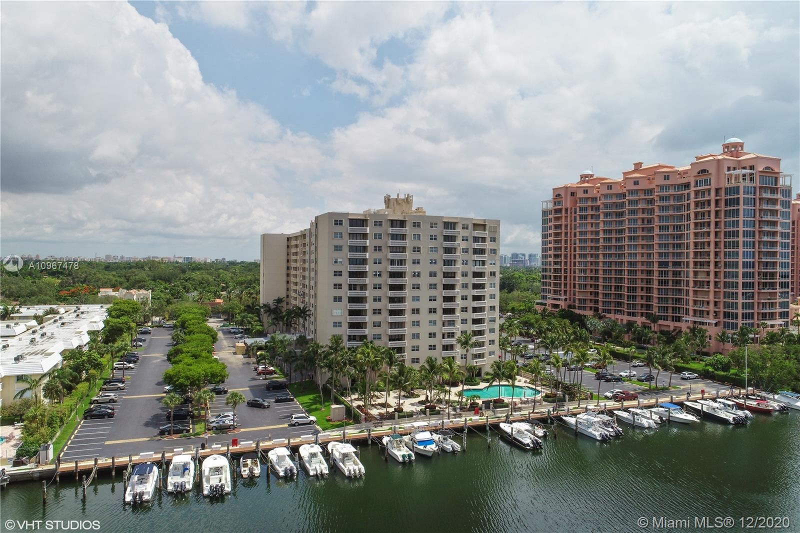 90 Edgewater Dr #807, Coral Gables, FL 33133 - #: A10967478