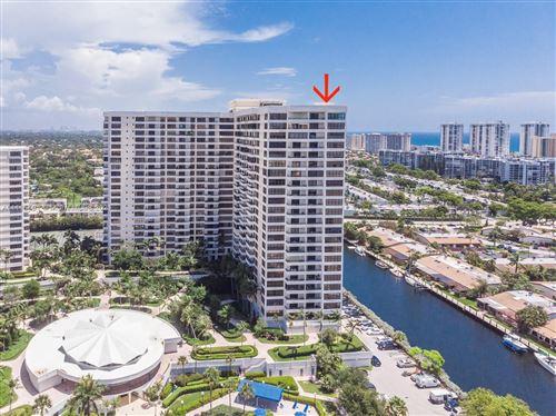 Photo of 2500 Parkview Dr #2501, Hallandale Beach, FL 33009 (MLS # A11115481)