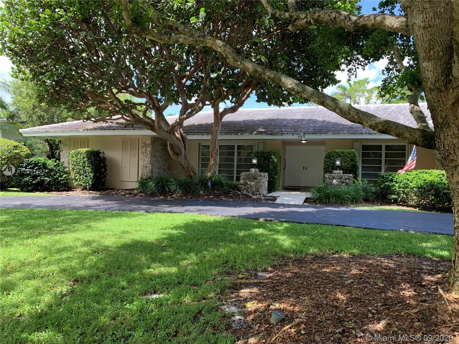 465 Campana Ave, Coral Gables, FL 33156 - #: A10931482