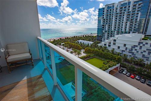 Photo of 2301 Collins Ave #1001, Miami Beach, FL 33139 (MLS # A10891483)