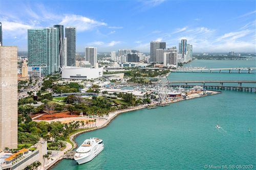 Photo of 848 Brickell Key Dr #3702, Miami, FL 33131 (MLS # A10830490)