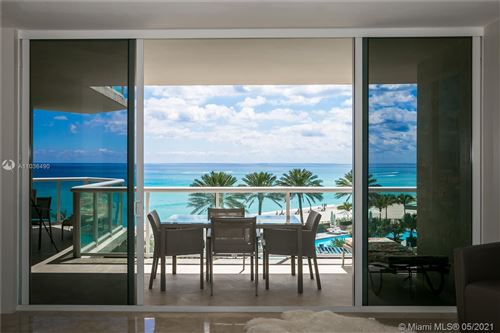 Photo of 18671 Collins Ave #503, Sunny Isles Beach, FL 33160 (MLS # A11036490)