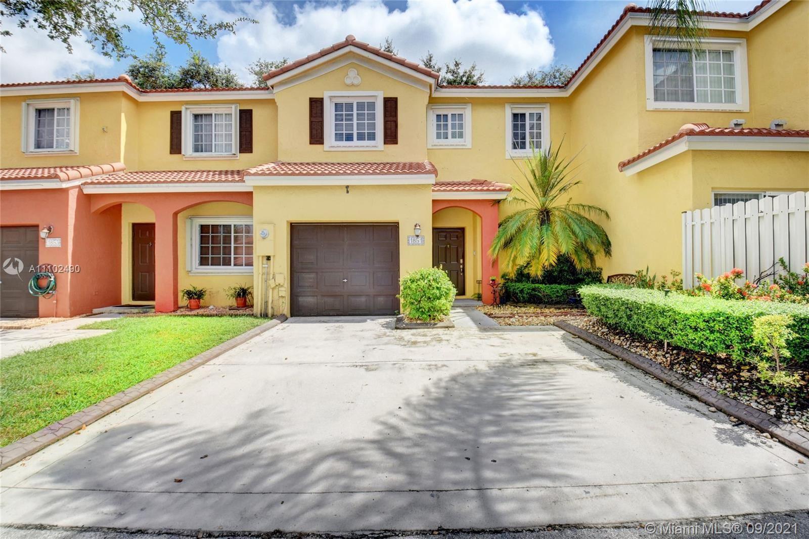 1851 SW 103rd Ave #1851, Miramar, FL 33025 - #: A11102490