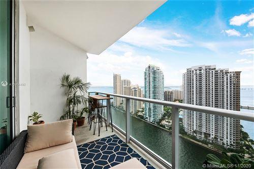 Photo of 300 S Biscayne Blvd #T-2806, Miami, FL 33131 (MLS # A10954492)