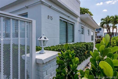 Photo of 815 80th St #1A, Miami Beach, FL 33141 (MLS # A10927495)
