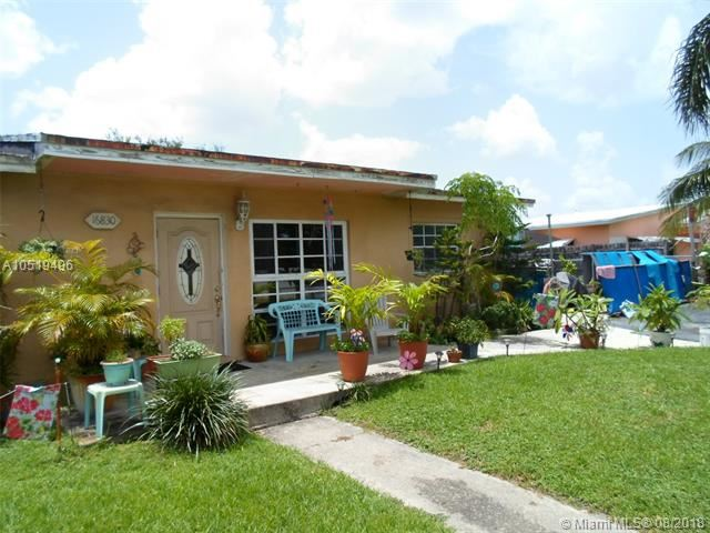 16830 NW 40th Ave Miami Gardens FL | MLS a10519496 | CAROL CITY REV PLAT