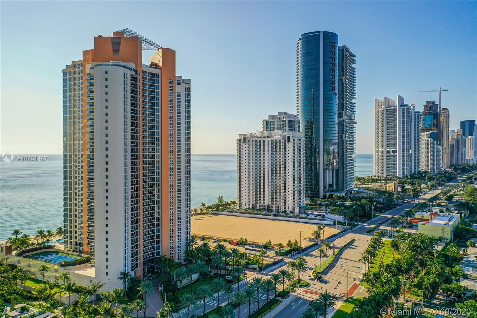 Photo of 18911 Collins Ave #2702, Sunny Isles Beach, FL 33160 (MLS # A10931497)
