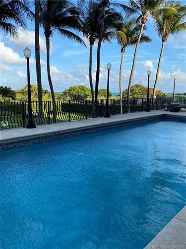 Photo of 9195 Collins Ave #414, Surfside, FL 33154 (MLS # A10839499)
