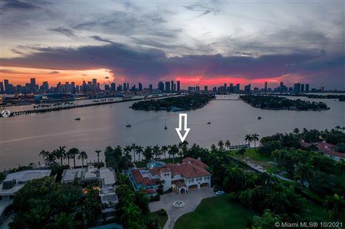 Tiny photo for 8-9 Star Island Dr, Miami Beach, FL 33139 (MLS # A11081499)