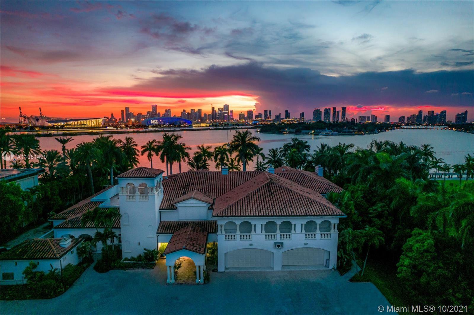 Photo for 8-9 Star Island Dr, Miami Beach, FL 33139 (MLS # A11081499)
