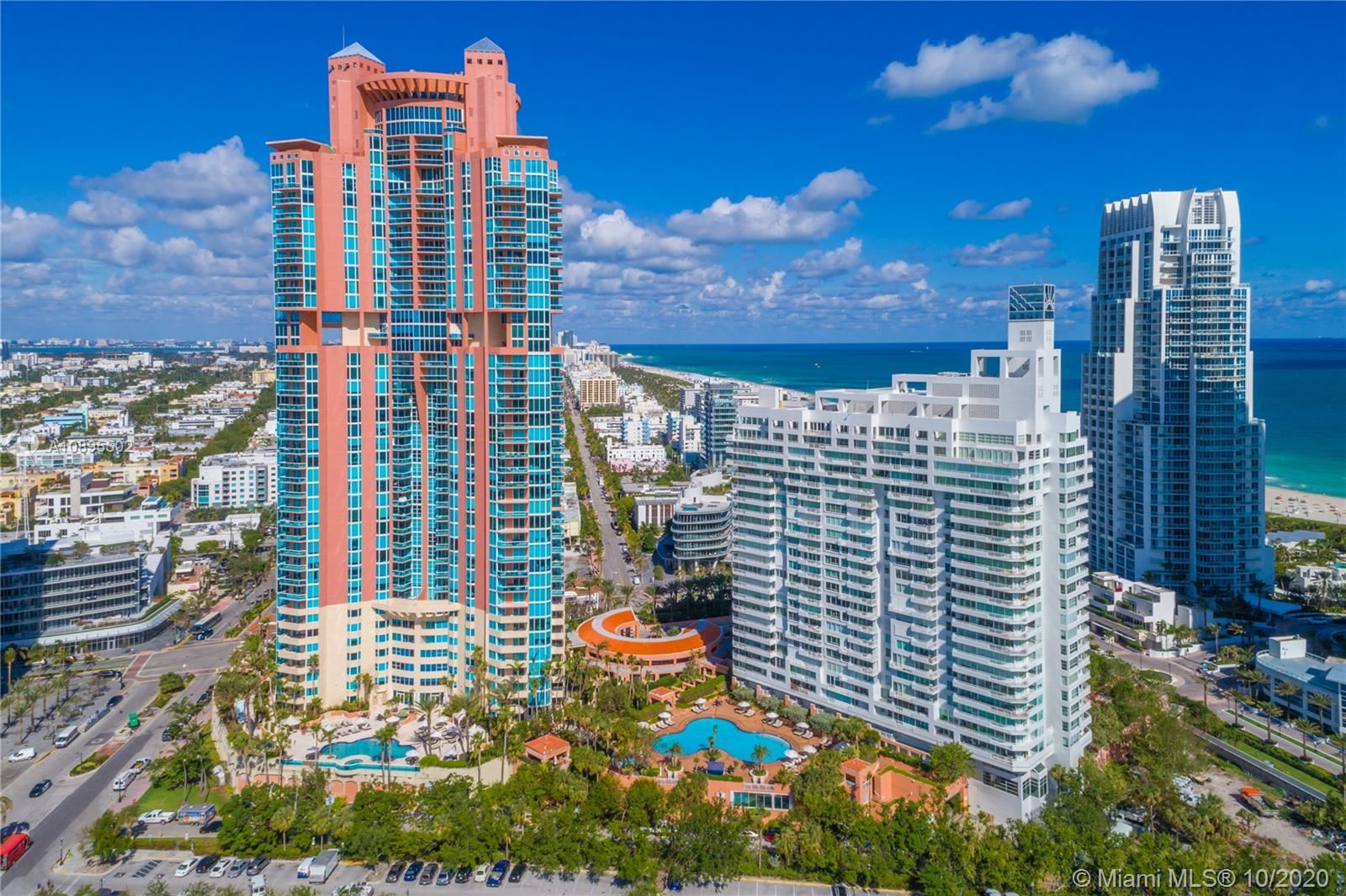300 S Pointe Dr #2202, Miami Beach, FL 33139 - #: A10895502